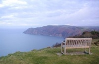 Foreland Point from the top of Hollerday Hill, Lynton
